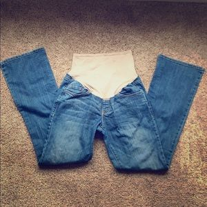 Old Navy bootcut Maternity Jeans